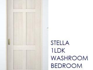 1LDK洋室ドア広告